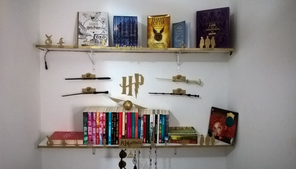 Impressão 3D Harry Potter